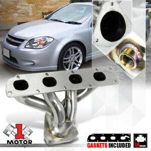 Stainless Steel Exhaust Header Manifold For 05 10 Chevy Cobalt hhr ion 2 2 2 4