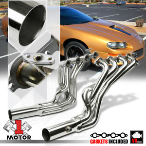 Stainless Steel Long Tube Exhaust Header Manifold For 98 99 Camaro Firebird Ls1