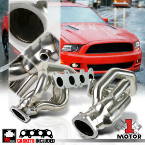 Ss Shorty Exhaust Header Manifold For 11 14 Ford Mustang 5 0 302 V8 Coyote D2c