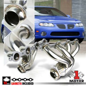 Stainless Steel Exhaust Header Manifold For 04 06 Pontiac Gto 5 7 6 0 350 364 V8