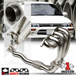 Stainless Steel Exhaust Header Manifold For 93 97 Toyota Corolla Ae102 7a Fe 1 8