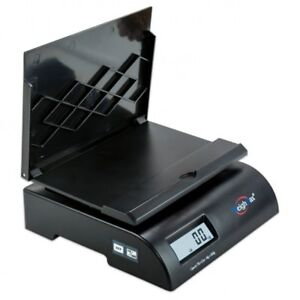 Postal Shipping Weighing Scale Weighmax 75 Lbs Digital With Batteries Ac Adapter