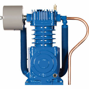 Quincy Qt 7 5 Basic Compressor Pump For 5 7 5 Hp Qt Compressors