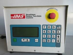 Haas Two Axis Brushless Controller Sc02 ac Rotary Table Indexer 4th 5th 230v