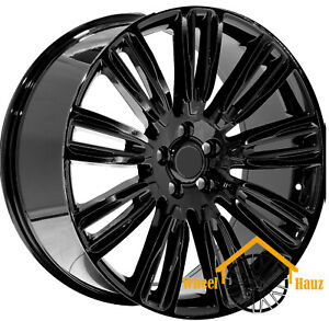 22 Wheels For Range Rover Sport Black Edition