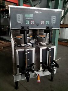 Bunn Coffee Maker Commercial Brewer Dual Gpr Dbc Digital Hot Water Portable Urns