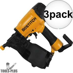 Bostitch N66c 1 1 1 4 To 2 1 2 15 Deg Coil Siding Nailer 3x New