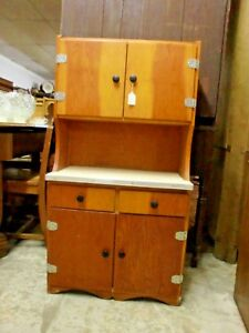 Vintage Child Step Back Kitchen Cabinet Cupboard