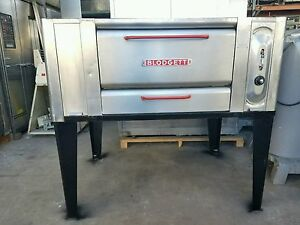 Blodgettt Pizza Oven Model 1000s With Steel Shelf Natural Gas