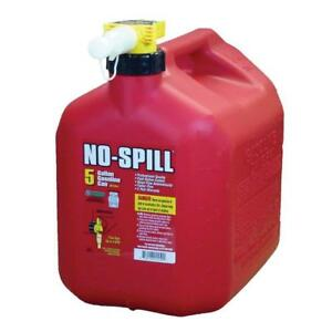 No Spill No spill 5 Gal Poly Gas Gasoline Can Carb Epa Compliant 1450 s