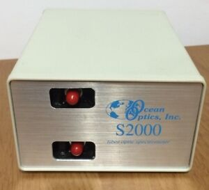 Ocean Optics S2000 Dual Channel Fiber Optic Spectrometer Adc1000 usb