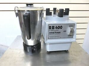 Robot Coupe Rb400 Commercial Food Processor Vertical Cutter mixer