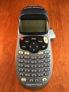Dymo Letratag Handheld Portable Electronic Label Maker Machine Tested Working