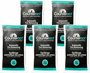 5 Bags 5 Ounce Counteract Tire Balancing Beads 5 Oz