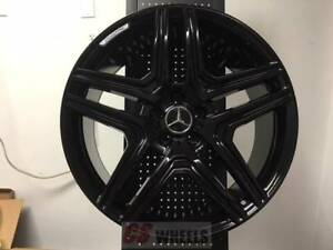 22 Amg Style Black Wheels Rims Fits Mercedes Benz Gle350 Gle400 Gle450 Gle550
