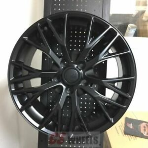 18 19 Z06 Zo6 Style Gloss Black Wheels Rims Fits 2005 2013 Corvette C6 Base