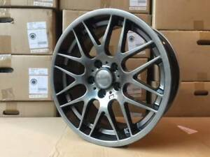 18 Gunmetal Csl M3 Wheels Rims Gts Fits Bmw E36 E46 E90 E92 E93 M3