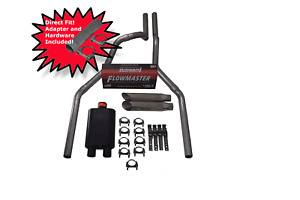 Ford F 150 04 14 2 5 Direct Fit Dual Exhaust Flowmaster Super 44 W Slash Tips