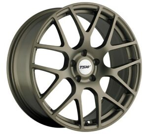 19x9 5 Tsw Nurburgring 5x112 Rims 53 Matte Bronze Wheels Set Of 4