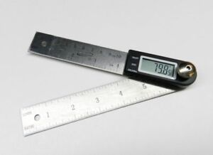 Igaging Digital Protractor With 7 And 4 Stainless Steel Blade 35 407