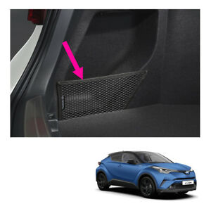 Fits Toyota C hr Suv 18 19 Genuine Left Side Rear Trunk Cargo Net Black