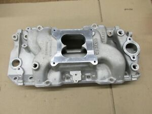 Weiand Stealth Bbc Big Block Chevy 396 402 427 454 Rectangle Intake 8018
