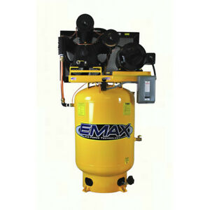 Emax Ep15v120y3 15 Hp 120 Gal Electric Vertical Air Compressor New