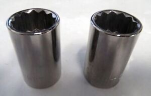 Armstrong 39 117a 17mm 12 Point 1 2 Drive Socket Usa 2pcs