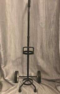 Oxygen Tank Rolling Cart Pre owned In Good Condition