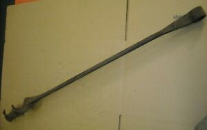 Antique Vintage Hand Forged 3 Inch Auger Drill Bit Boring Tool 45 Inch Long