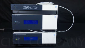 Thermo Dionex Ultimate 3000 Uhplc Hplc Pump Uvd Detector Degasser Solvent Tray