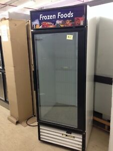 True Gdm 26f 30 Glass Door Freezer Merchandiser