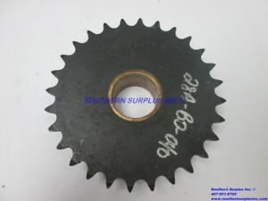 Martin 50b28h Sprocket Gear 28 tooth 1 5 Id 5 7 8 Od 1 25 Wide Bronze Bushing