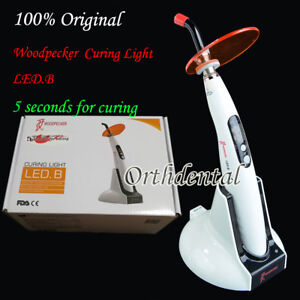 Original Woodpecker Dental Wireless Led Curing Light Lamp 1400mw Led b 5s Curin
