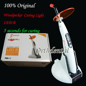 Original Woodpecker Dental Wireless Led Curing Light Lamp 1400mw Led b 5s Curing