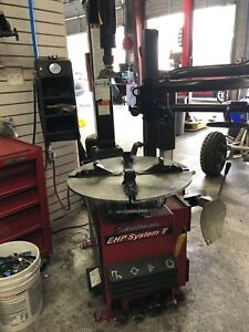 John Bean Snap On Tire Changer Ehp System V And Wheel Balancer Bhf800