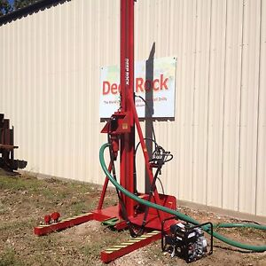 Deeprock Bobcat Waterwell Drilling Rig Pro series 2018 Model Made In Usa