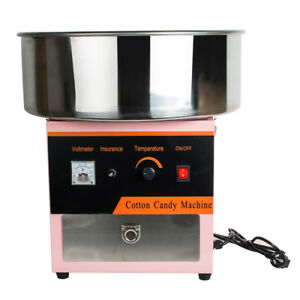 Home Electric Cotton Candy Machine Floss Maker Commercial Carnival Kids Party