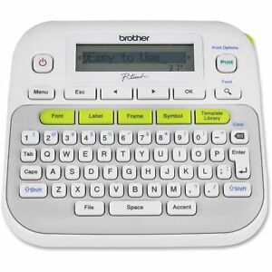 Brother P touch Pt d210 Handheld Self Adhesive Sticker Tape Label Maker printer