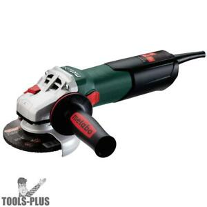 Metabo 600371420 4 1 2 Angle Grinder W Quick Wheel Change System New