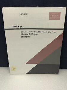 Tektronix Tds 420a Tds 430 Tds 460a Tds 510a Reference Manual New Old Stock