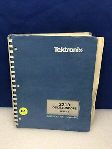 Tektronix 2213 Oscilloscope Service Manual W schematics