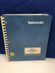 Tektronix 2213 Oscilloscope Service Manual Rev Feb 1983 W schematis