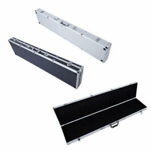 53 aluminum Locking Padded Hard Gun Case Rifle Security Scattergun Storage Carry