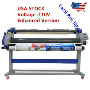 60 Hot Cold Seal Laminator Machine Auto Take Up Large Format Pneu Laminating