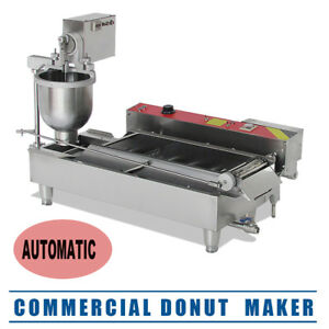 usa commercial Auto Donut Maker Making Machine Free Steel 3 Optional Mold Ca