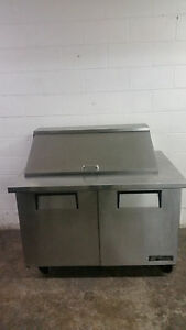 True 48 Tssu 48 18m b Salad Sandwich Prep Table 115v Tested Mega Top