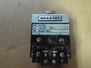 Agastat Time Delay Relay 7012pe