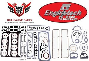 Enginetech Chevy Sbc 350 5 7 Overhaul Gasket Set 1986 1995