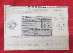 1937 Dodge 1 2 Ton Truck Vintage Car Historical Memorabilla Document